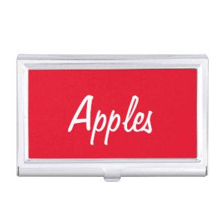 りんごの名刺入れ 名刺入れ