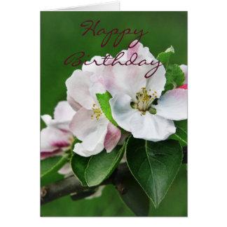 りんごの木の花カード カード
