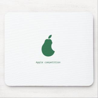 りんごの競争ナシのmousepad マウスパッド