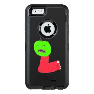 りんごの足の電話箱 オッターボックスディフェンダーiPhoneケース