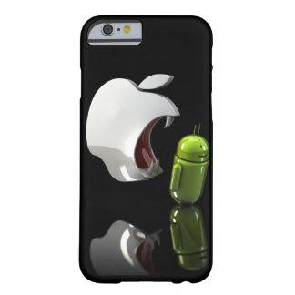 りんごの食べ物のアンドロイドの箱 BARELY THERE iPhone 6 ケース