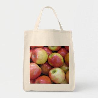 りんごの食料雑貨の戦闘状況表示板 トートバッグ