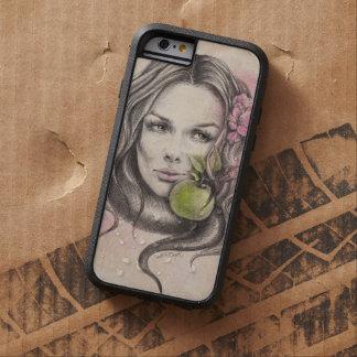 りんごのiPhone 6の場合が付いているEve|Womanのポートレート Tough Xtreme iPhone 6 ケース