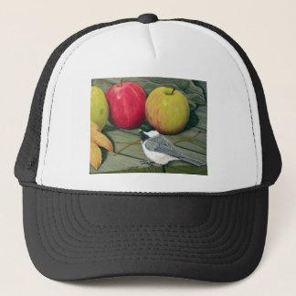 りんごを持つ《鳥》アメリカゴガラ キャップ