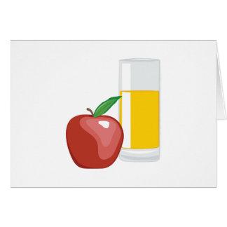 りんごジュース カード