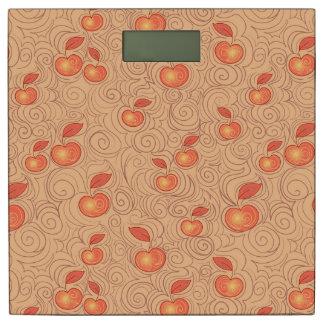 りんごパターン 体重計