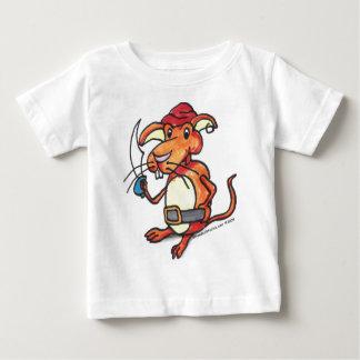 りんごラット ベビーTシャツ