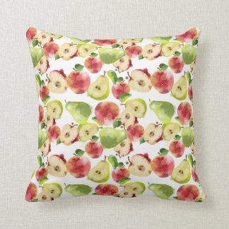 りんご及びナシの枕 クッション