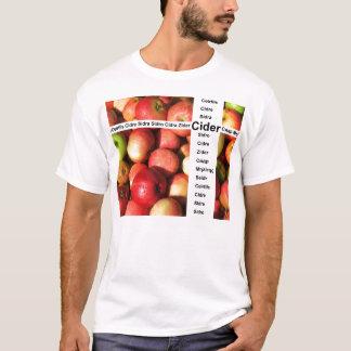 りんご酒の単語 Tシャツ