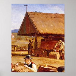 りんご酒Making', 1841_Greatの芸術品 ポスター