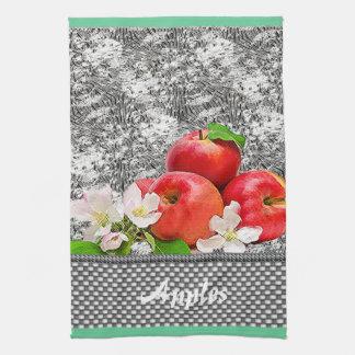 りんご キッチンタオル