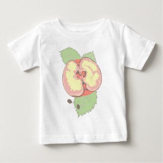 りんご ベビーTシャツ