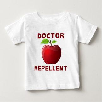 りんご: 医者の防水加工剤 ベビーTシャツ