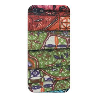 ろうけつ染めのサロンパターン iPhone 5 CASE