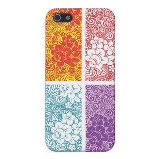 ろうけつ染めのスタイルのiphone 5の場合 iPhone 5 cover