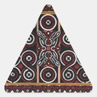 ろうけつ染めno.20のコレクション 三角形シール