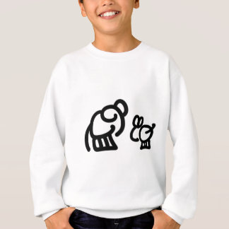 ろばおよび象の話すこと スウェットシャツ