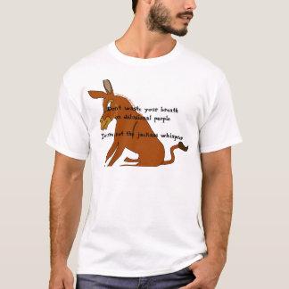 ろばの囁くもの Tシャツ