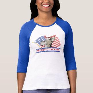 ろばの政治Tシャツがあること誇りを持った Tシャツ