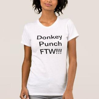 ろばの穿孔器FTW!!! Tシャツ(レディース) Tシャツ
