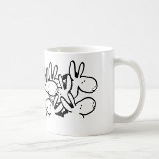 ろばの群集 コーヒーマグカップ