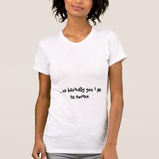 ろば。 そう基本的にyes私はnerinxに行きます tシャツ