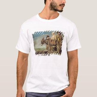 ろば(キャンバスの油) Tシャツ