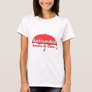 わかっている自閉症の援助気になるため Tシャツ