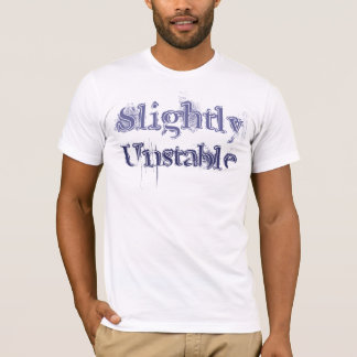 わずかに不安定。 Tシャツ
