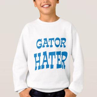 わに嫌悪症の淡いブルーの服装のデザイン スウェットシャツ