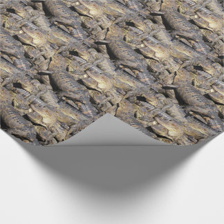 わに山の包装紙 ラッピングペーパー