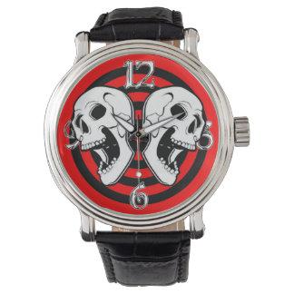 わめくスカル 腕時計