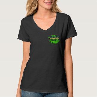 わめくスープ! 女性Tシャツ Tシャツ