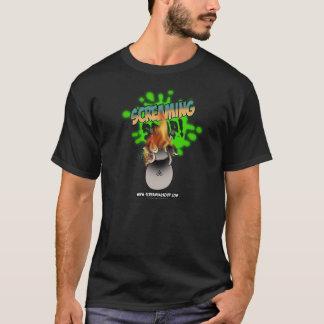 わめくスープ! 火のTシャツのビリー Tシャツ