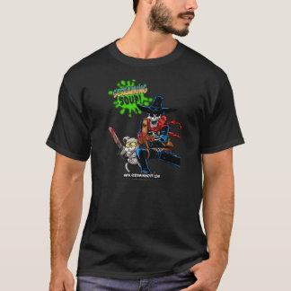 わめくスープ! Deadwest及びビリーの銃撃戦のTシャツ Tシャツ