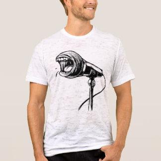 わめくマイクロフォン Tシャツ