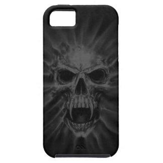 わめく吸血鬼のスカルのiPhone 5の場合 iPhone SE/5/5s ケース