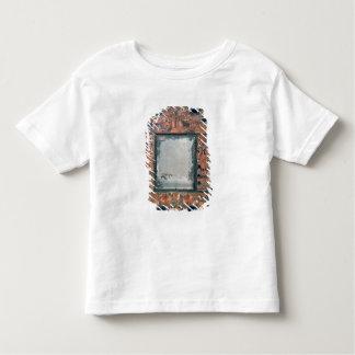 わらワークの鏡フレーム1670-80年 トドラーTシャツ