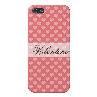 |をくまなくハートValentinoの例 iPhone 5 Case