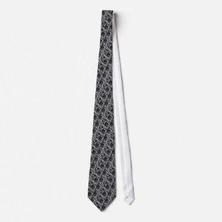 をくまなく、レースのデザインのタイ ネクタイ