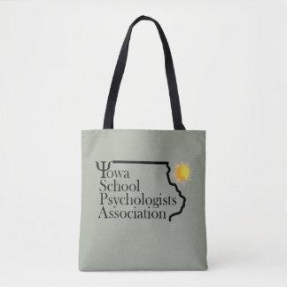 アイオワの学校の心理学者連合の明るいトート トートバッグ