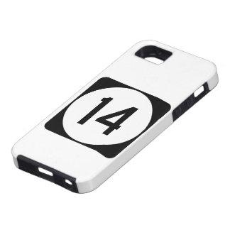 アイオワの州のルート14 iPhone SE/5/5s ケース