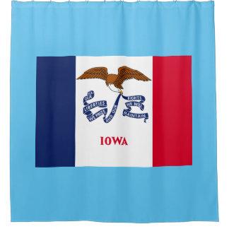 アイオワの州の旗 シャワーカーテン