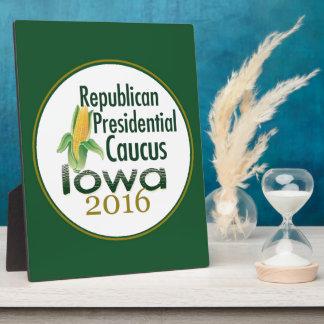 アイオワの幹部会議2016年 フォトプラーク