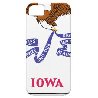 アイオワの旗の地図 iPhone SE/5/5s ケース