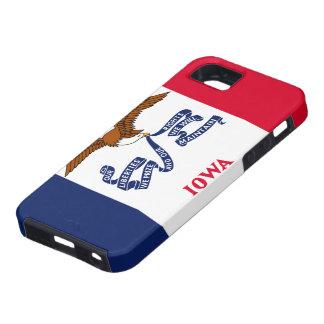 アイオワの旗のiPhone 5の場合 iPhone SE/5/5s ケース