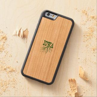 アイオワの根 CarvedチェリーiPhone 6バンパーケース