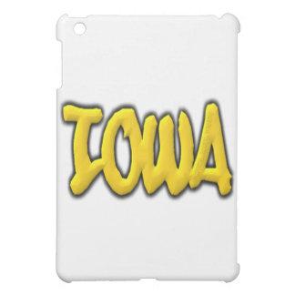 アイオワの落書き iPad MINI カバー