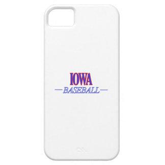 アイオワの野球のデザイン iPhone SE/5/5s ケース