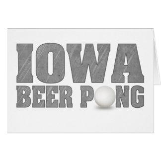アイオワビールPong カード